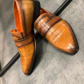 tan-bespoke-handmade-loafer