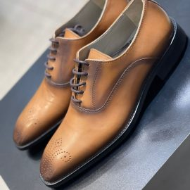 Formal Tan/Brown Lace-up